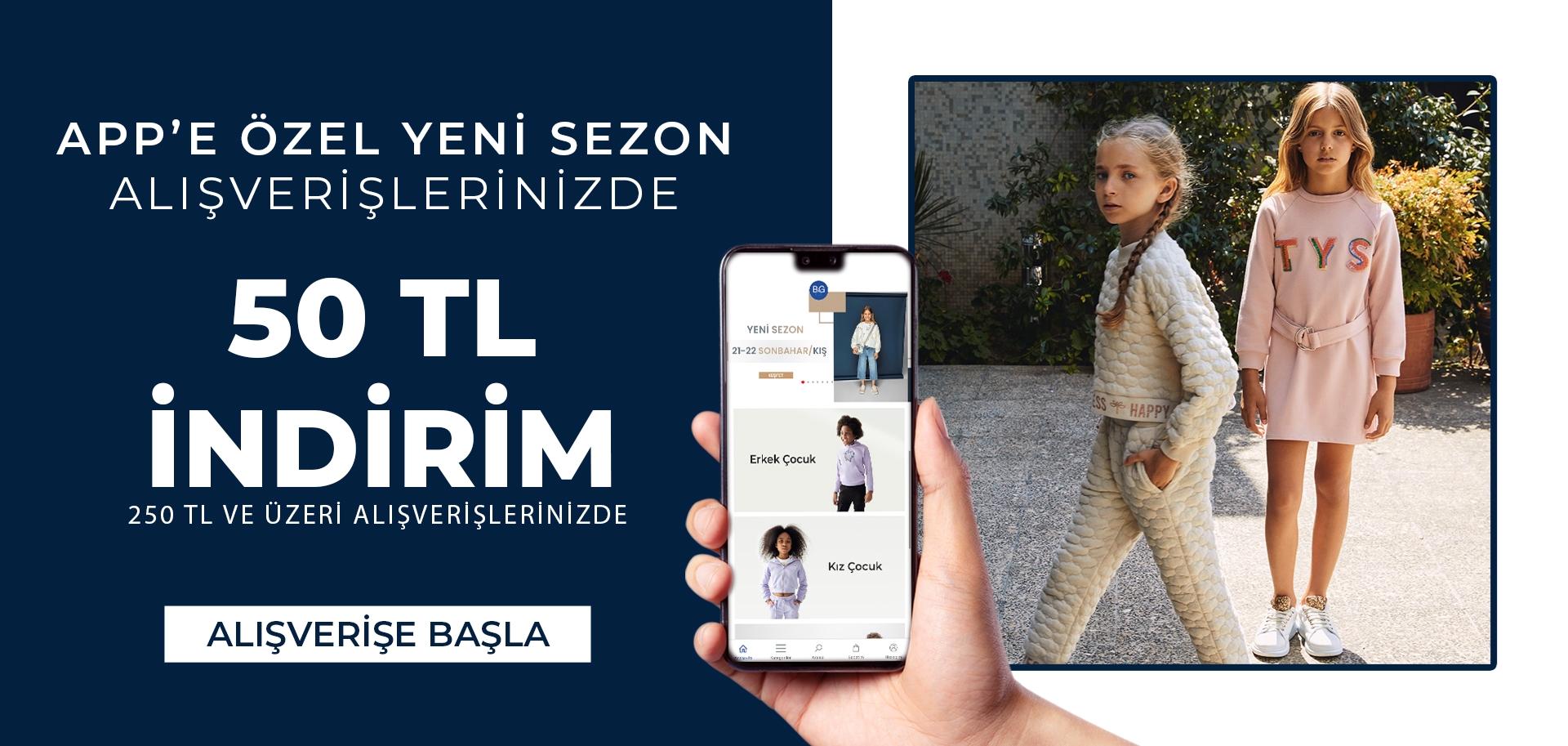 App Özel 50 TL