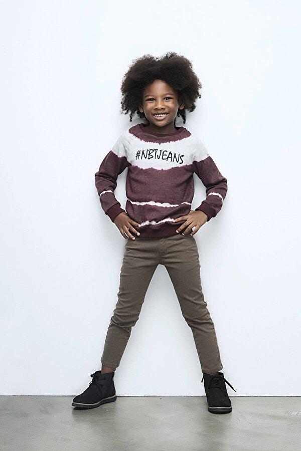 Resim Erkek Çocuk Desenli Pantolon