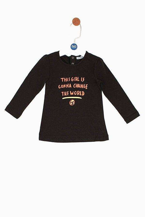 Resim Kız Bebek Siyah Tunik