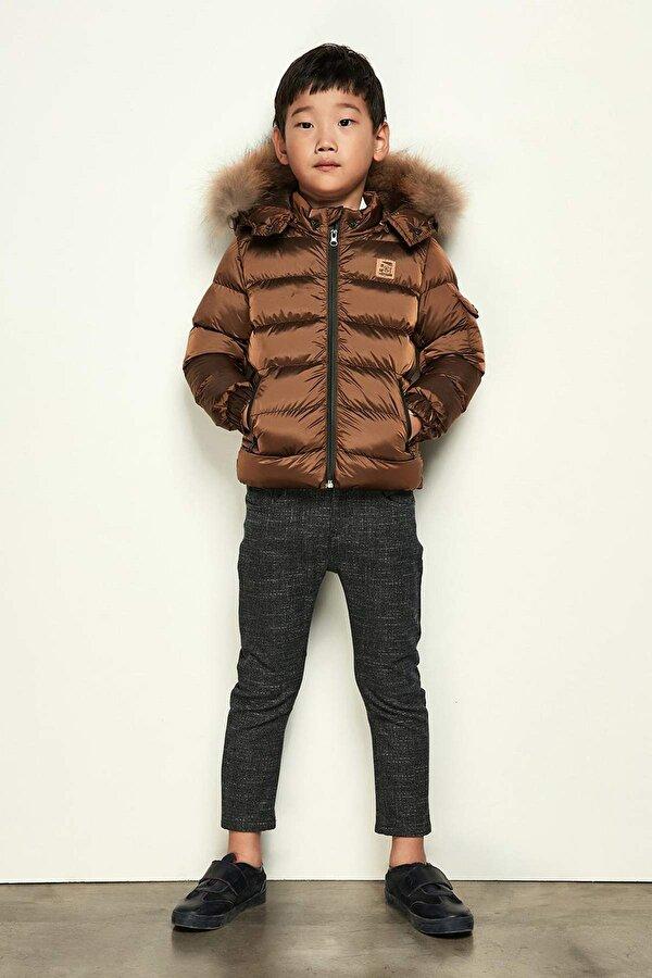 Resim Erkek Çocuk Ekose Pantolon