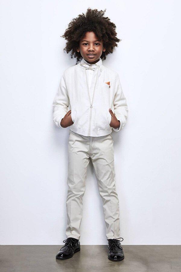 Resim Erkek Çocuk Bej Pantolon