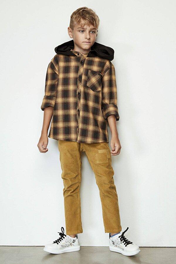 Resim Erkek Çocuk Hardal Pantolon