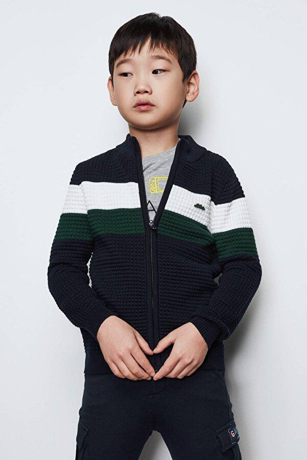 Resim Erkek Çocuk Lacivert Hırka