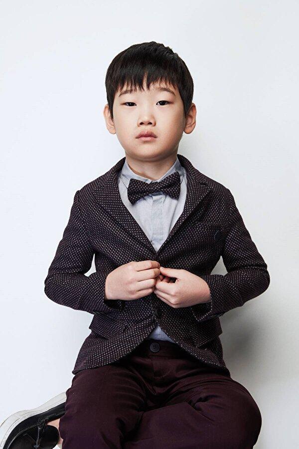 Resim Erkek Çocuk Bordo Ceket