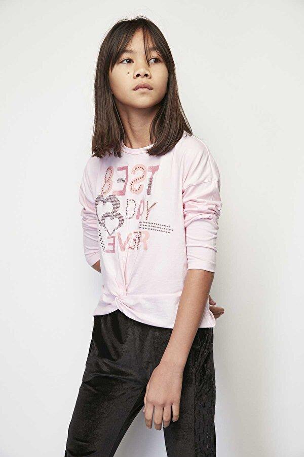 Resim Kız Çocuk Pembe T-Shirt