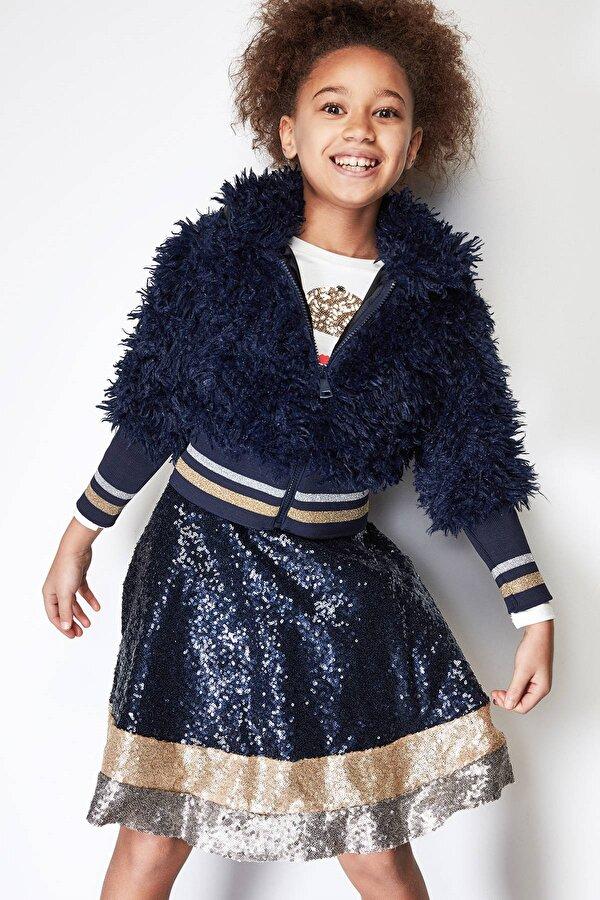 Resim Kız Çocuk Lacivert Ceket