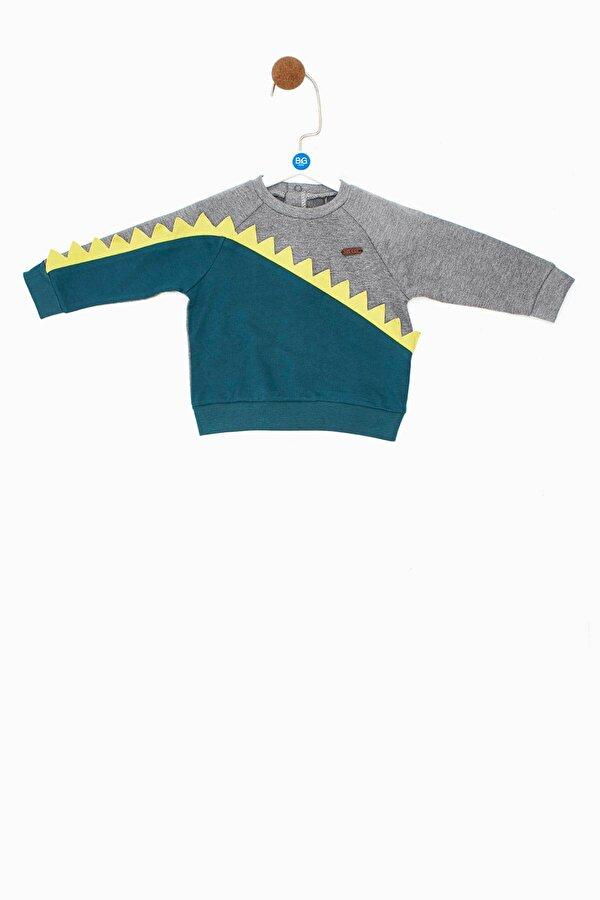 Resim Erkek Bebek Yeşil S-Shirt