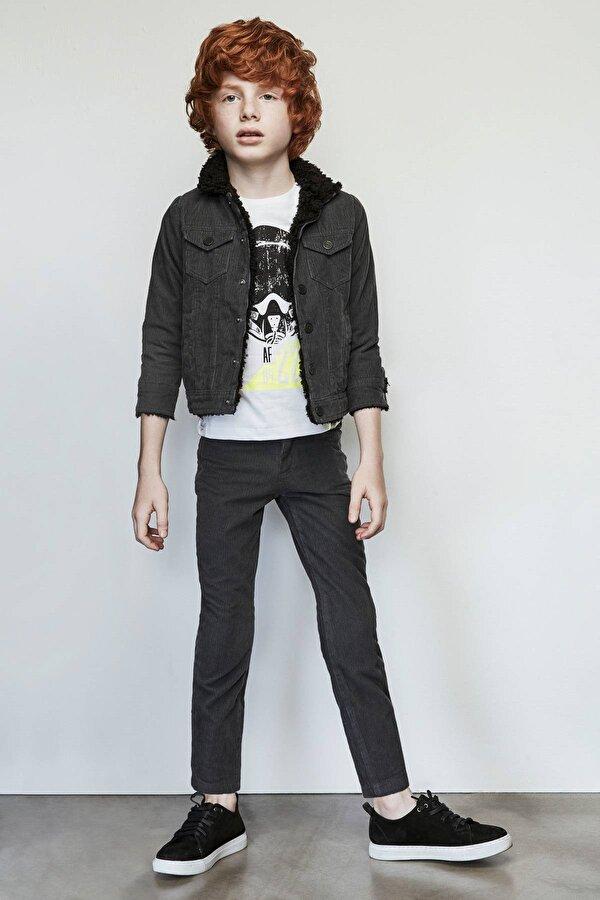 Resim Erkek Çocuk Antrasit Pantolon