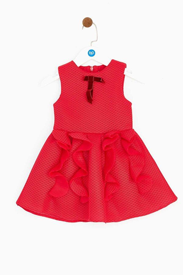 Resim Kız Bebek Kırmızı Elbise