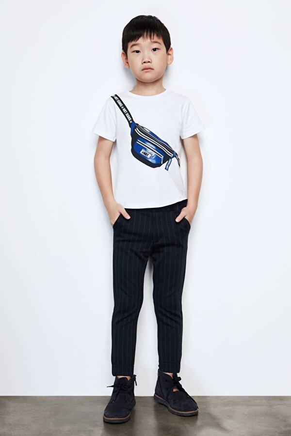 Resim Erkek Çocuk Lacivert Pantolon