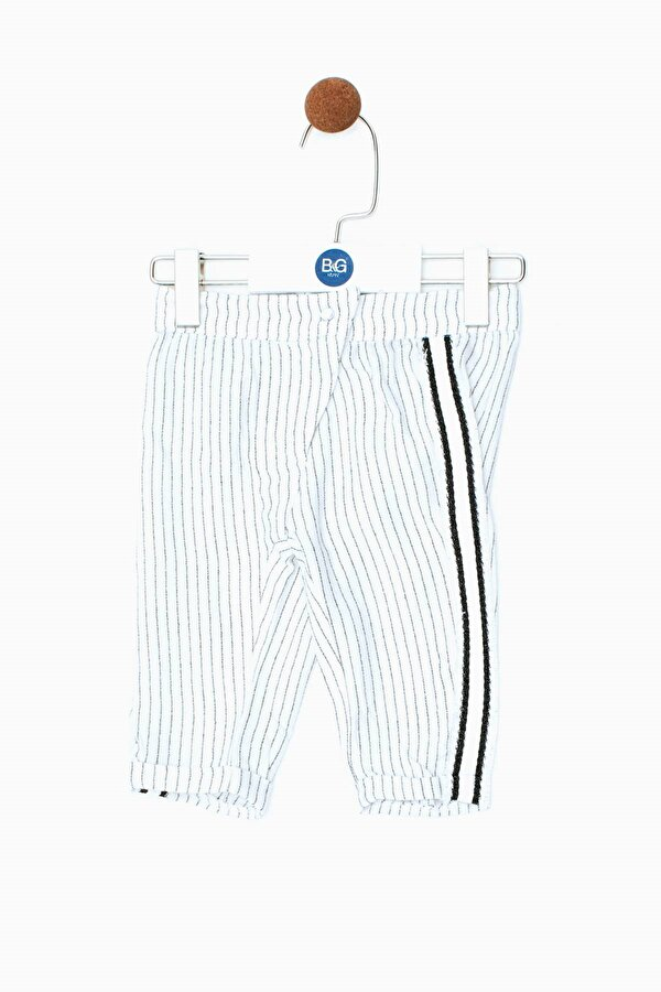 Resim Kız Bebek Çizgili Pantolon