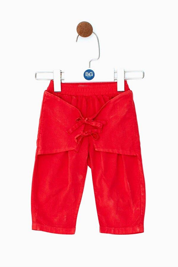 Resim Kız Bebek Kırmızı Pantolon