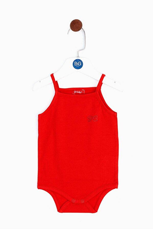 Resim Kız Bebek Kırmızı Body