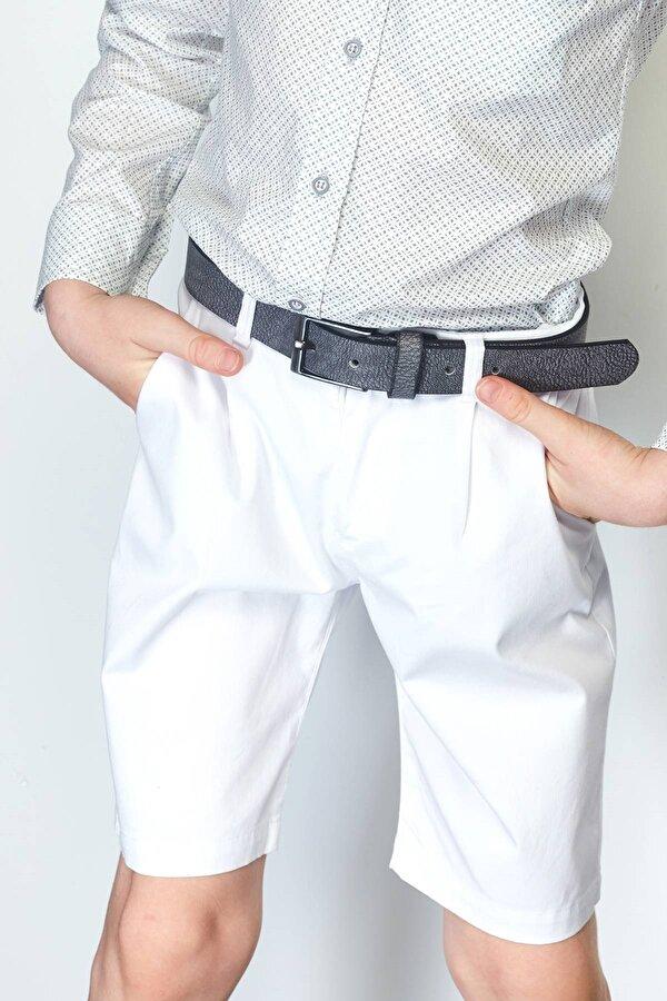 Resim Erkek Çocuk Beyaz Şort