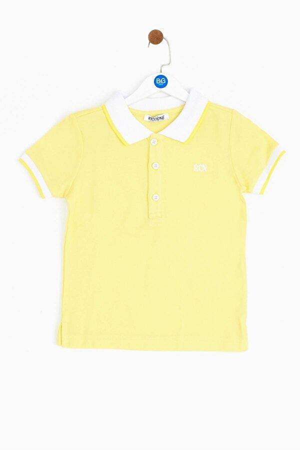 Resim Erkek Bebek Sarı T-Shirt