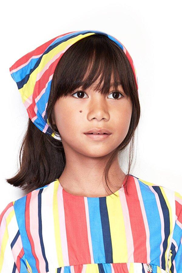 Resim Kız Çocuk Desenli Saç Bandı