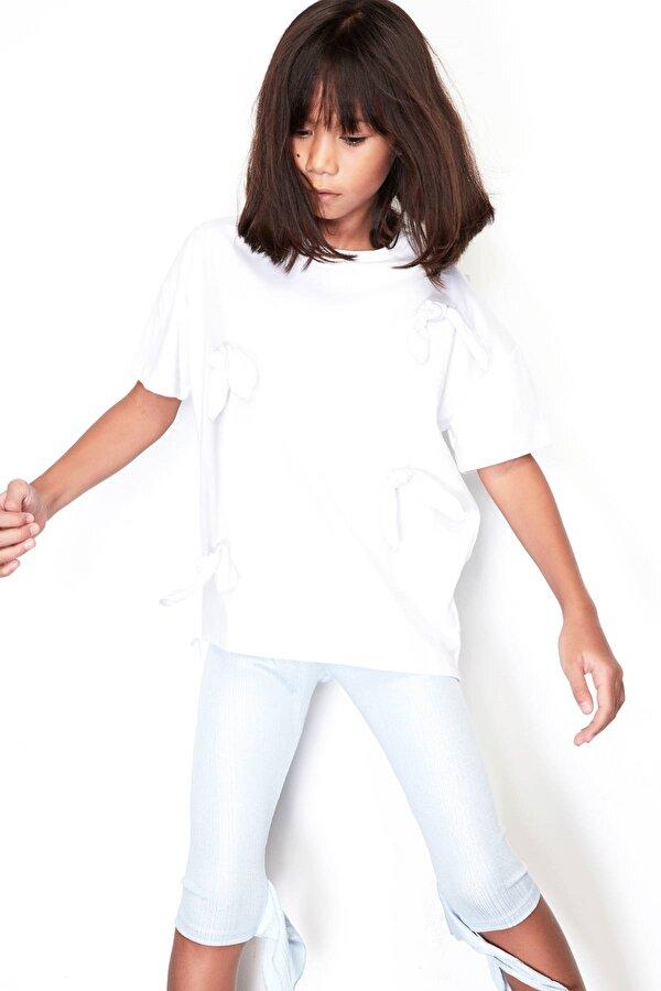 Resim Kız Çocuk Mavi Tayt
