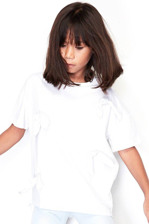 Resim Kız Çocuk Beyaz Tunik