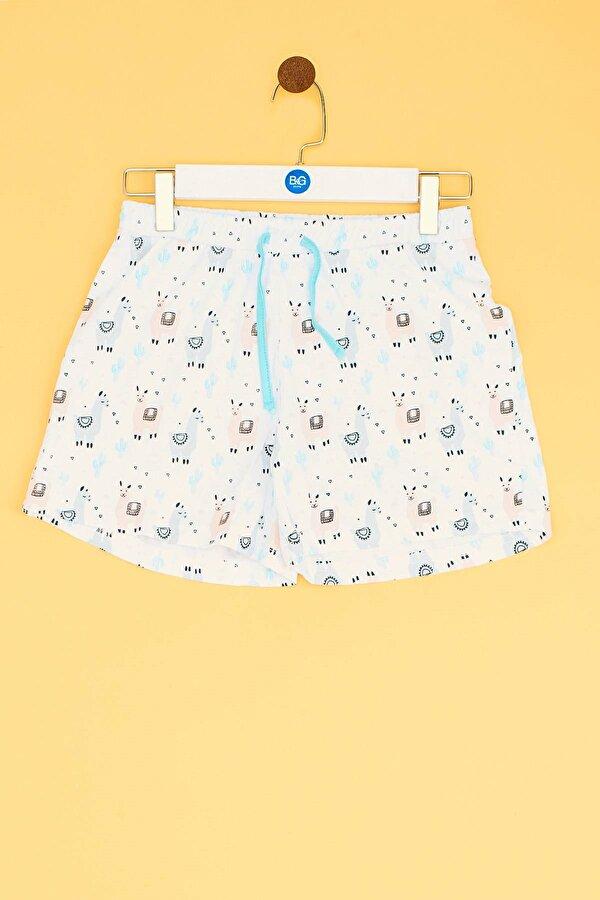 Resim Kız Çocuk Desenli Pijama Takımı