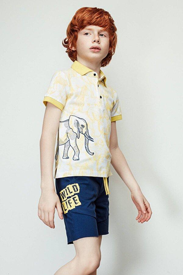 Resim Erkek Çocuk Lacivert Şort