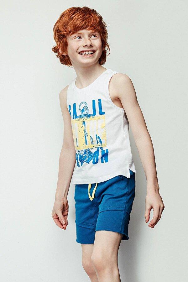 Resim Erkek Çocuk Beyaz Atlet