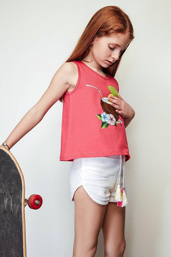 Resim Kız Çocuk Fuşya Atlet