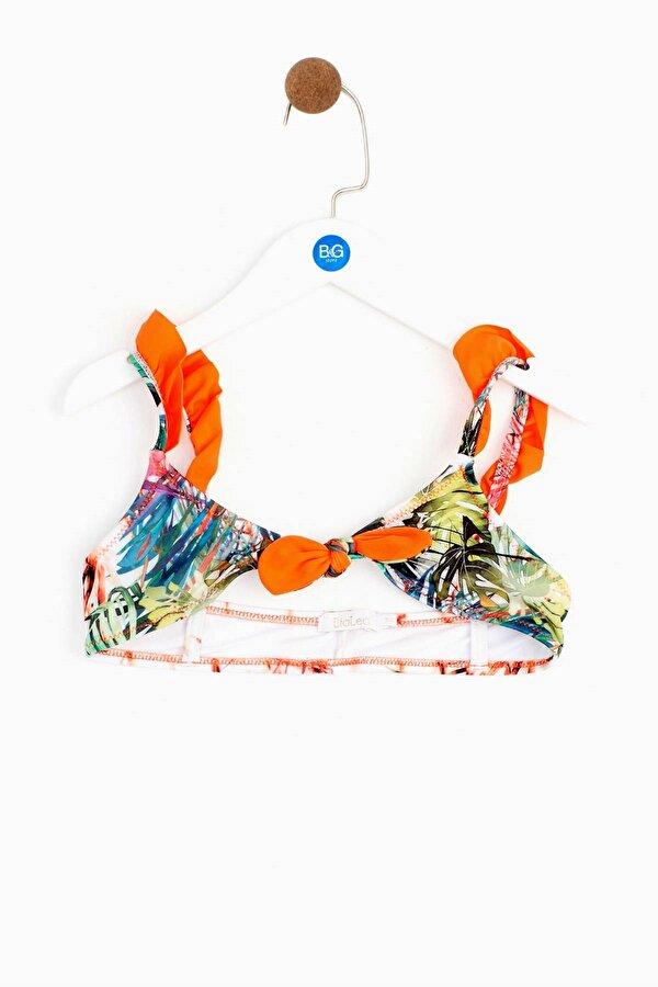 Resim Kız Çocuk Tropik Bikini