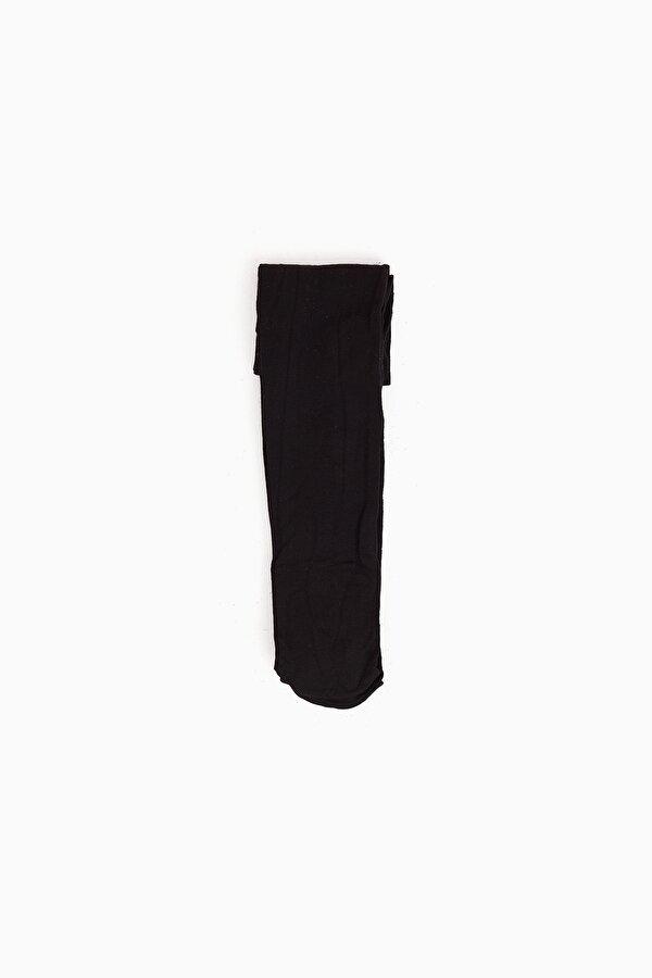 Resim Kız Çocuk Siyah Çorap
