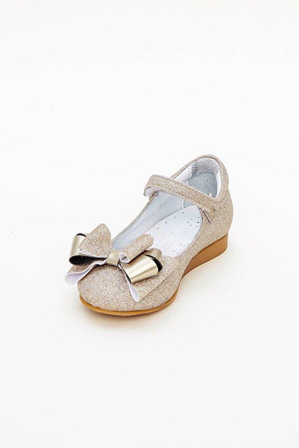 Resim Kız Bebek Altın Ayakkabı