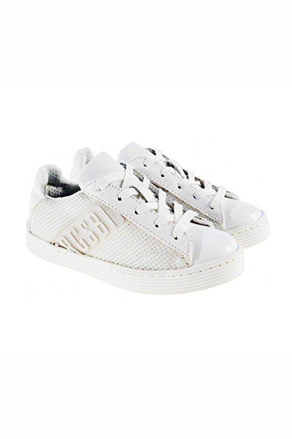 Resim Erkek Çocuk Beyaz Ayakkabı