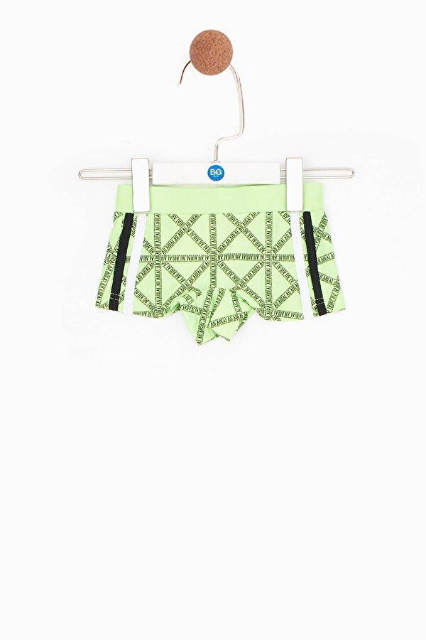 Resim Erkek Bebek Yeşil Slip