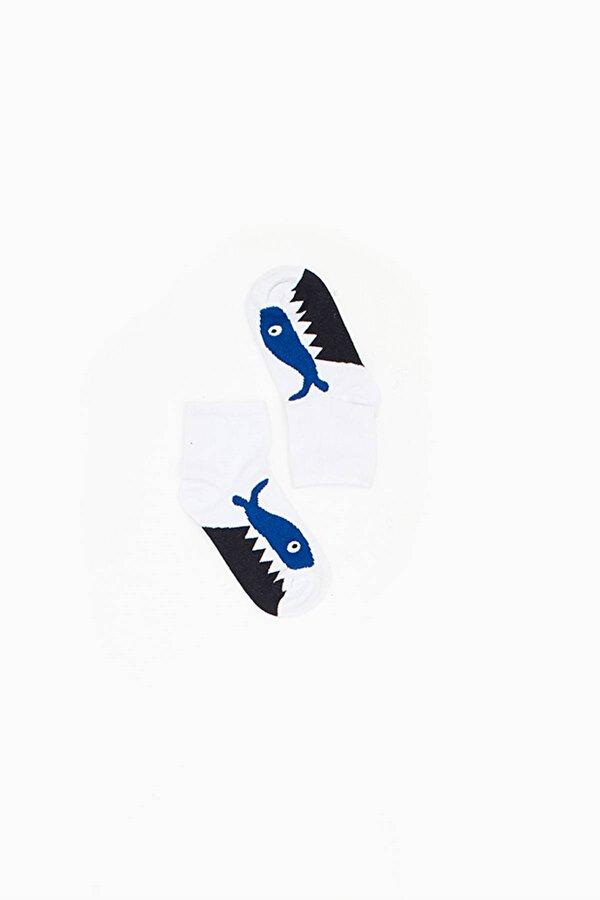 Resim Erkek Çocuk Desenli Çorap