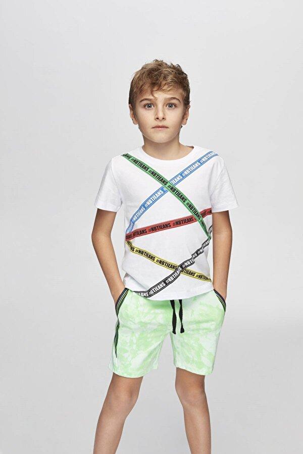 Resim Erkek Çocuk Yeşil Şort