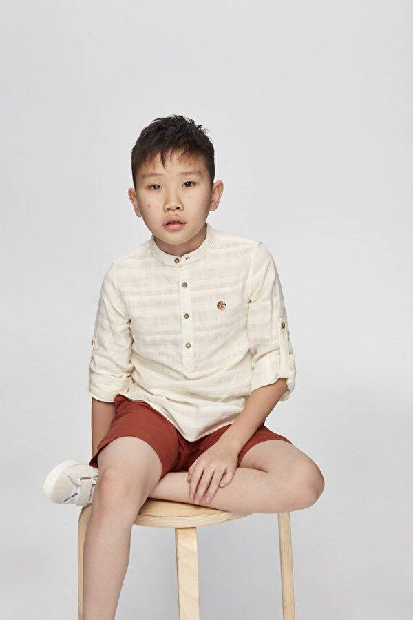 Resim Erkek Çocuk Tarçın Şort