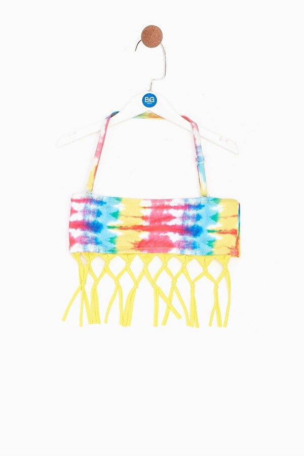 Resim Kız Çocuk Fuşya Bikini