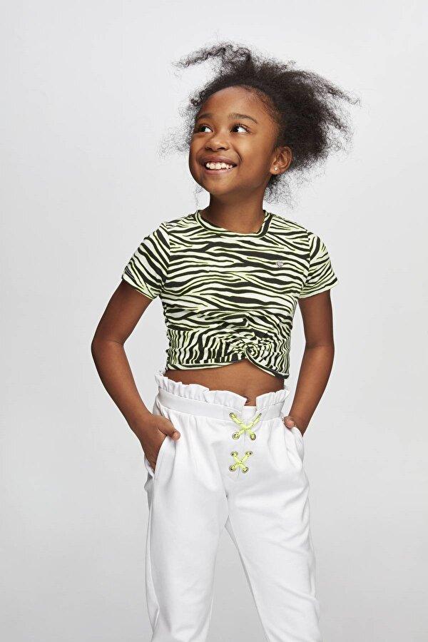 Resim Kız Çocuk Desenli T-Shirt