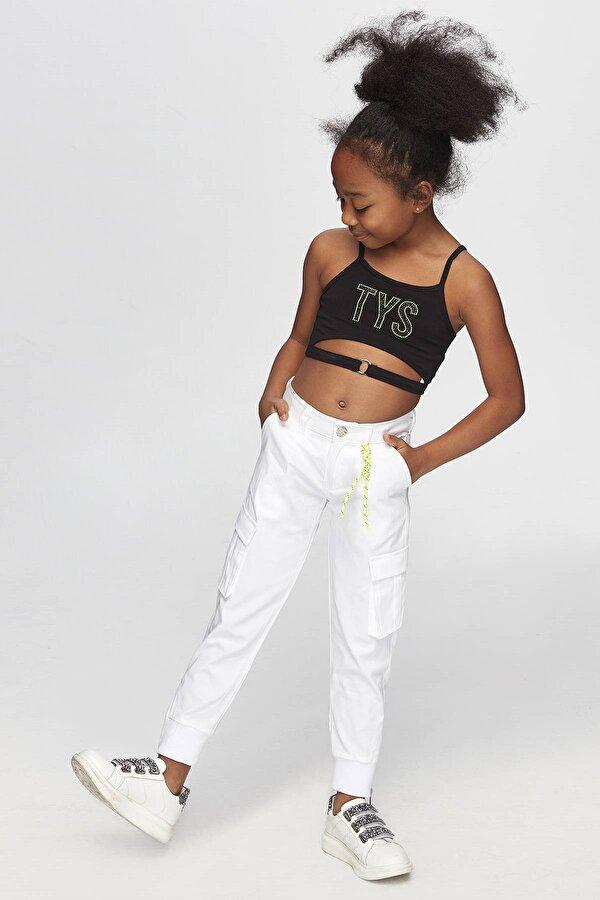 Resim Kız Çocuk Siyah Atlet