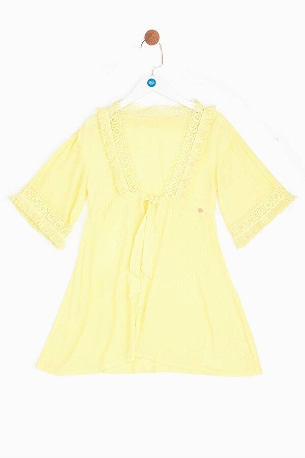 Resim Kız Çocuk Sarı Pareo
