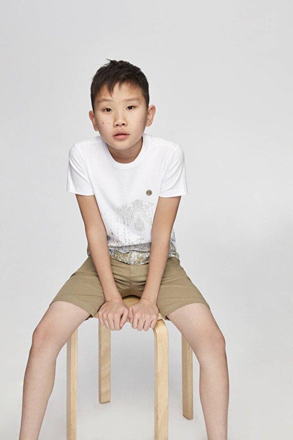Resim Erkek Çocuk Bej Şort