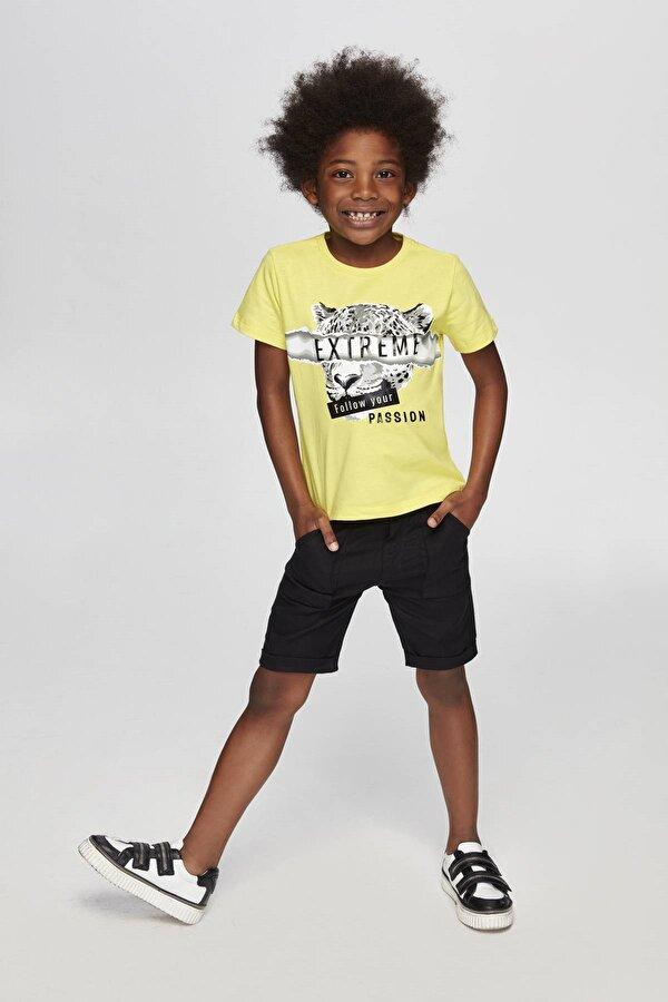 Resim Erkek Çocuk Siyah Şort