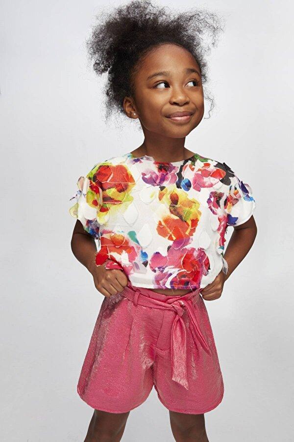 Resim Kız Çocuk Desenli Bluz