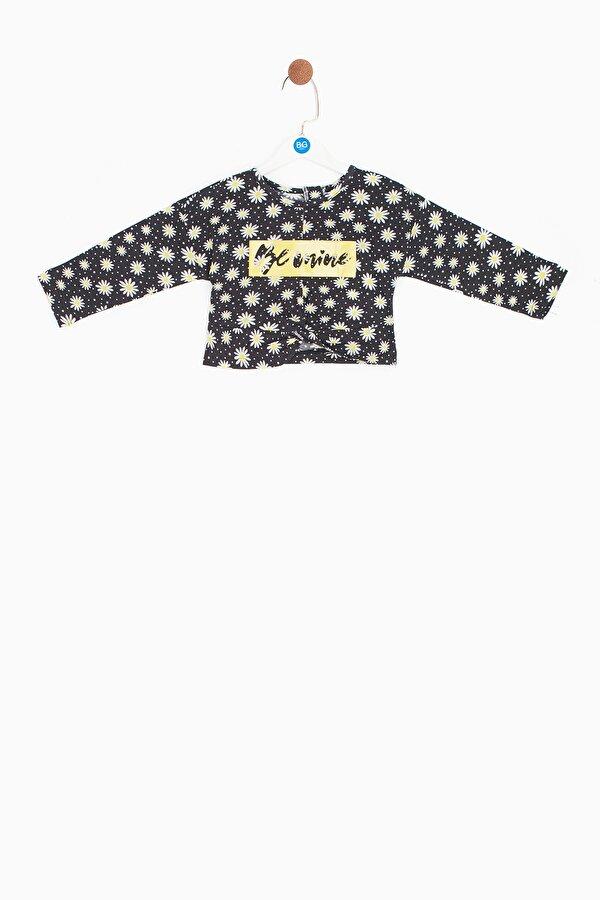 Resim Kız Bebek Desenli Bluz