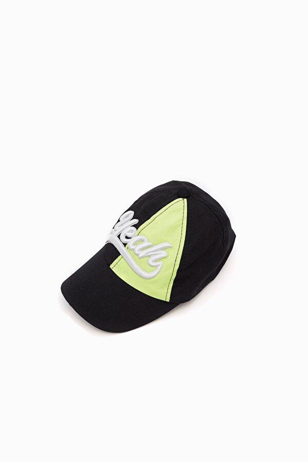 Resim Erkek Bebek Siyah Şapka