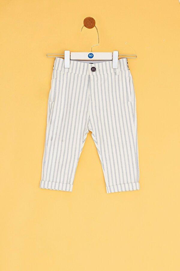 Resim Erkek Bebek Çizgili Pantolon