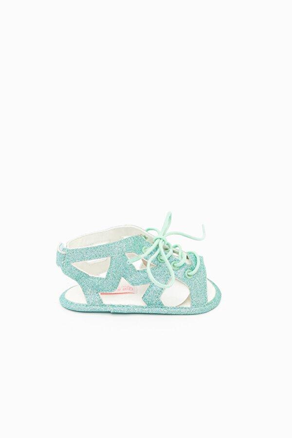 Resim Kız Bebek Mavi Patik