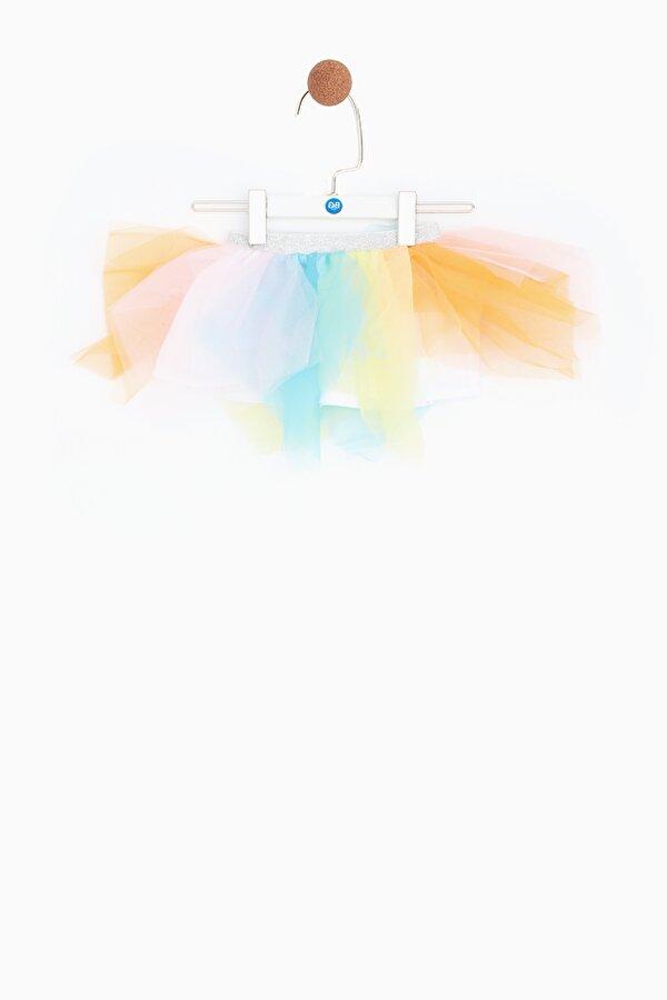 Resim Kız Bebek Renkli Etek