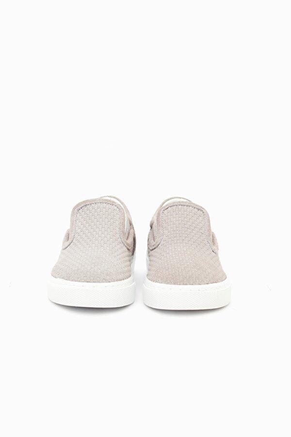 Resim Erkek Çocuk Gri Ayakkabı
