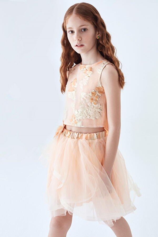 Resim Kız Çocuk Somon Bluz