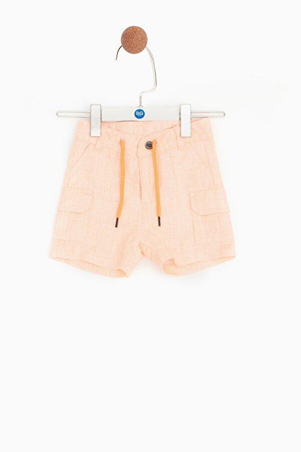 Resim Erkek Bebek Neon Oranj Şort