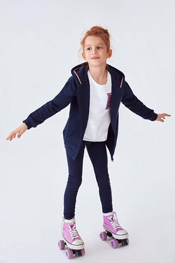 Resim Kız Çocuk Lacivert Tayt